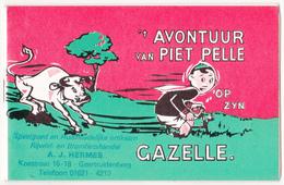 Gazelle. (boekje,15 Blz Met Strips) - Publicité