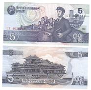 KOREA NORTH 5 WON 1998  LOTTO 643 - Corea Del Nord