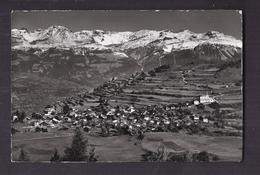 CPSM SUISSE - SIERRE - VERCORIN S. SIERRE - TB Vue Générale - Mt. Bonvin - Wildstrubel - Trubelnstock - Zayettahorn - VS Valais