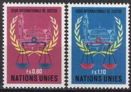 UNO GENF 1979 Mi-Nr. 86/87 ** MNH - Genève - Kantoor Van De Verenigde Naties
