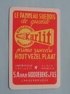 KARLIT Wallboard Suedois S.A. Van HOOREBEKE & Fils Langerbrugge / JOKER ( Details - Zie Foto´s Voor En Achter ) !! - Speelkaarten