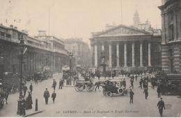 17 / 3 / 449  -    LONDON  -  BANK  OF  ENGLAND  ET  ROYAL  EXCHANGE   ( Animée ) - Autres