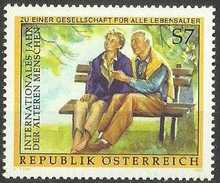 Austria - 1999 Year Of Older People 7s MNH **      Sc 1796 - 1945-.... 2nd Republic