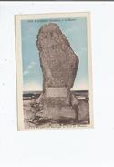 PLOZEVET (FINISTERE) 3753 LE MENHIR ELEVE A LA MEMOIRE DES NAUFRAGES DU DROIT DE L'HOMME - Plozevet