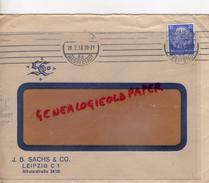 ALLEMAGNE- LEIPZIG C 1- J.B. SACHS & CO- NIKOLAISTRASSE 24/26- 1935 - 1900 – 1949