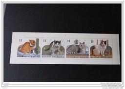Belgique 1993   C 24 Carnet Avec N° 2521 à 2524  Les Chats - Carnets 1953-....