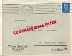 ALLEMAGNE- MUNCHEN-WALTER FRIEDRICH- - A PIERRE POINTU & PERUCAUD MEGISSERIE SAINT JUNIEN-1930 GANTERIE - Germany