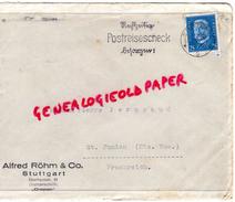ALLEMAGNE- STUTTGART -ALFRED ROHM & CO-  - A PIERRE PERUCAUD MEGISSERIE SAINT JUNIEN-1932 GANTERIE - 1900 – 1949