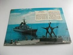Nave Ship  GUERRA CACCIALANCIAMISSILI AUDACE  PREGHIERA DEL MARINAIO - Guerra