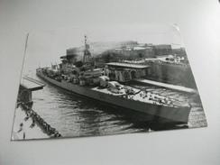 Nave Ship  GUERRA INCROCIATORE G. GARIBALDI 551 PONTE DI TARANTO - Guerra
