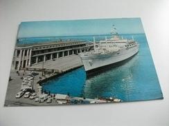 Nave Ship  AFRICA TRIESTE STAZIONE MARITTIMA - Guerra