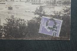 1927   -  SEMEUSE  SURCHARGEE  ANNULEE  D ' UN  CERCLE  !!!    SUR  CARTES  POSTALES  DE  MARSEILLE  2 PHOTOS - 1906-38 Säerin, Untergrund Glatt