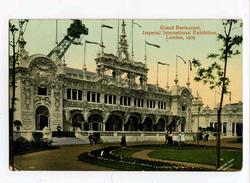 C 19664   -   London, 1909  -  Imperial International Exhibition   -   Grand Restaurant - Exhibitions