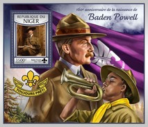 Niger - Postfris / MNH - Sheet Baden Powell 2017 - Niger (1960-...)