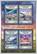 Niger - Postfris / MNH - Sheet Concorde 2017 - Niger (1960-...)