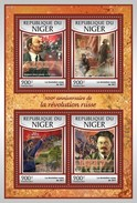 Niger - Postfris / MNH - Sheet Russische Revolutie 2017 - Niger (1960-...)