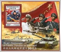 Niger - Postfris / MNH - Sheet Vrijheidsleger China 2017 - Niger (1960-...)