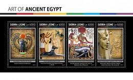 Sierra Leone - Postfris / MNH - Sheet Egyptische Kunst 2017 - Sierra Leone (1961-...)