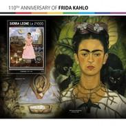 Sierra Leone - Postfris / MNH - Sheet Frida Kahlo 2017 - Sierra Leone (1961-...)