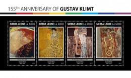 Sierra Leone - Postfris / MNH - Sheet Gustav Klimt 2017 - Sierra Leone (1961-...)