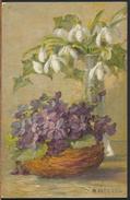 °°° 3302 - A. HALLER - FIORI FLOWERS FLORES - 1937 °°° - Haller, A.