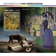 Sierra Leone - Postfris / MNH - Sheet Post-Impressionisme 2017 - Sierra Leone (1961-...)