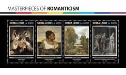 Sierra Leone - Postfris / MNH - Sheet Romantiek 2017 - Sierra Leone (1961-...)