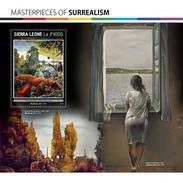 Sierra Leone - Postfris / MNH - Sheet Surrealisme 2017 - Sierra Leone (1961-...)