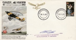 AFRIQUE DU SUD - 40th ANNIVERSARY OF THE SQUADRON'S FORMATION 1940 - VERWOERDBURG 16 X 80 - South Africa (1961-...)