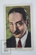 Old Trading Card/ Chromo Topic Cinema/ Movie - Spanish Chocolate Advertising - Actor: Adolphe Menjou - Chocolate