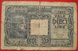 10 Lire 1944? (WPM 32a) - [ 1] …-1946 : Kingdom