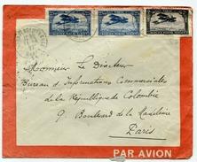 !!! ENVELOPPE LATECOERE DE 1927 DE RABAT POUR PARIS - Maroc (1891-1956)