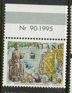 Aland Islands 1995 4.30o St. Olaf Issue #119 MNH  With Tab - Aland