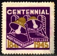 11363 Cinderelas Estados Unidos Colégio Baylor 1945 - Cinderellas