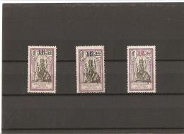 INDE  Timbres De 1914 Surchargés  N° 56*   à   58** - India (1892-1954)
