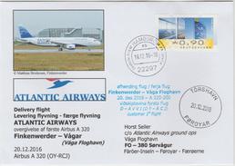 """Delivery Flight """"Atlantic Airways"""", Finkenwerder/Hamburg-vagar/Färöer - Flugzeuge"""