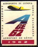11391 Cinderela Italia Aeroporto De Genova Avião - Cinderellas