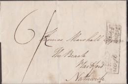 "1831 V. Amusing Letter From ""John Whitley, Brookside, Ashton"" To ""Thomas Marshall, The Beach, Hartford, Northwich"". 0281 - Manuscripts"
