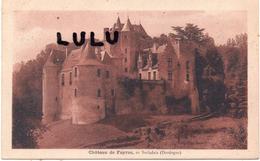 DEPT 24 : édit. Crouzel Tabac : Castelnaud La Chapelle , Chateau De Fayrac En Sarladais - France