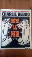 Crève Le Pen - Charlie Hebdo N°1189 - 6 Mai 2015 - Journaux - Quotidiens