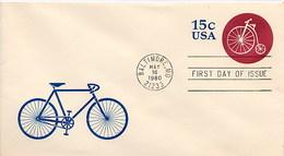 USA - Intero Postale - BICICLETTA  CYCLE - Ciclismo