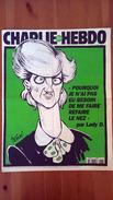 Charlie Hebdo N°272 - Pourquoi Je N'ai Pas Eu Besoin De Me Refaire Le Nez Par Lady D - Journaux - Quotidiens