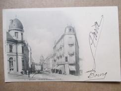 AIN  01        BOURG  -    AVENUE  ALSACE- LORRAINE     ANIME   TTB - Bourg-en-Bresse