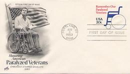 USA - Intero Postale -  REMEMBER OUR PARALYZED VETERANS - 1981-00