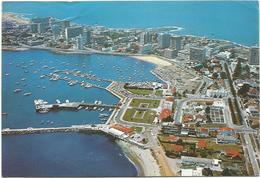 V347 Punta Del Este - Puerto - Vista Aerea - Nice Stamps Timbres Francobolli / Viaggiata 1986 - Uruguay