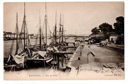 64 - BAYONNE . VUE DU PORT - Réf. N°737 - - Bayonne