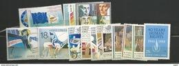 1988 MNH Cyprus, Year Complete, Postfris - Zypern (Republik)