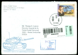 Cuba 2002 Registered FDC From Museo Postal Cubano To Thomas E. Leavey Director UPU Mi 4452 - FDC