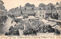 60-LIANCOURT- PLACE DE LA ROCHEFOUCAULD, LE MARCHE - Liancourt