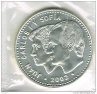R 595. Moneda 12 Euros ESPAÑA 2002, Spain Ag, Plata, Union Europea - España